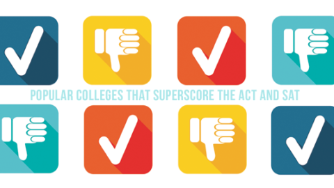 Popular Colleges that Superscore the ACT and SAT