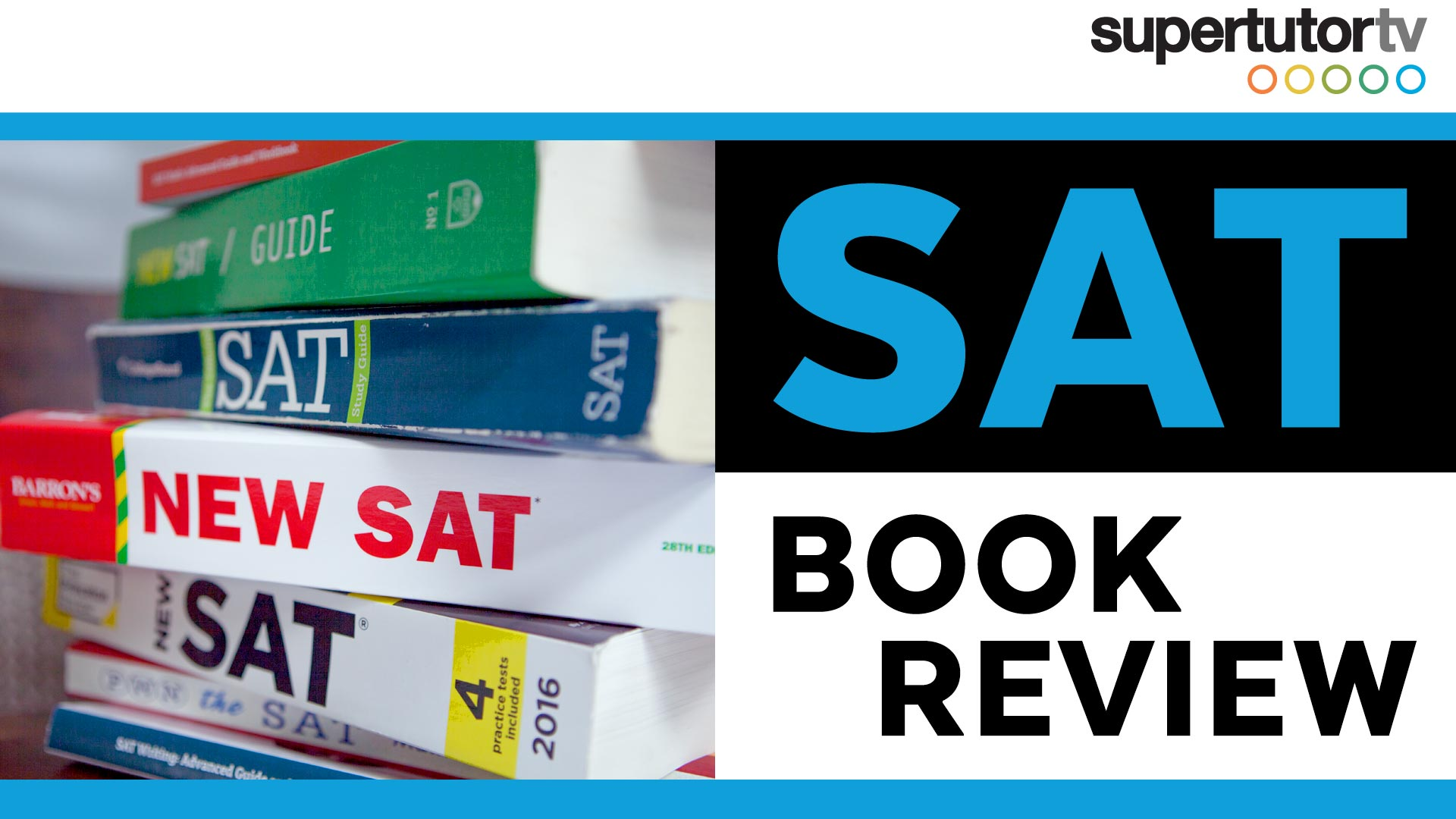 SAT Book Review: The BEST SAT books for self-study!