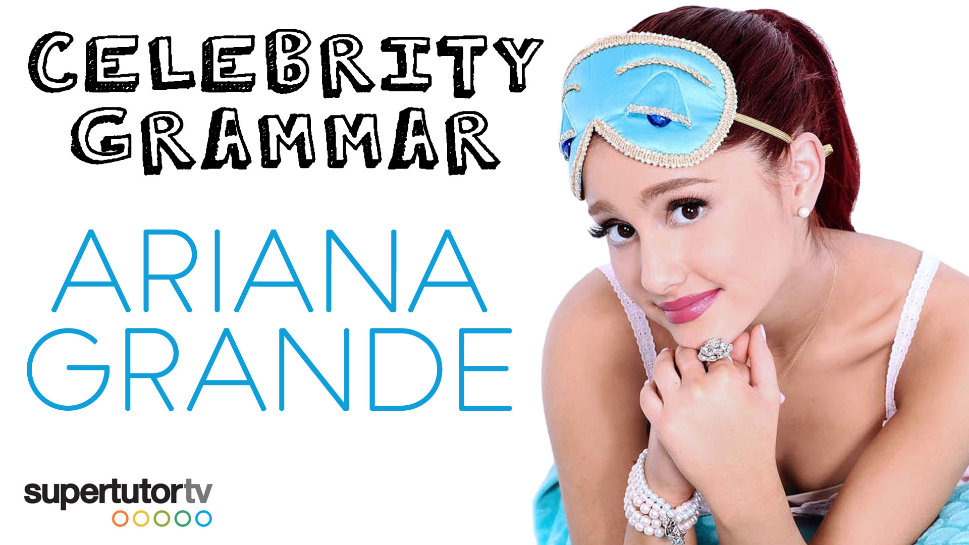 Pronoun Case Celebrity Grammar with Ariana Grande!