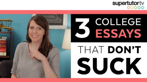 3 College Essays That Work!!! (and don't suck)