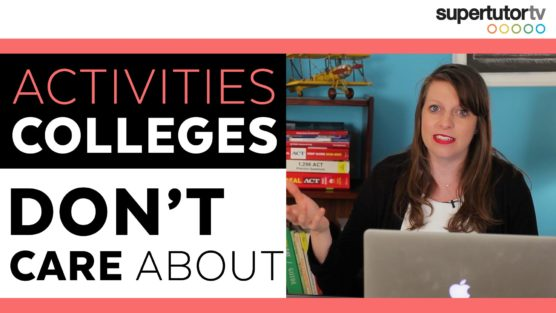 5 Activities That Don't Help Your College Application