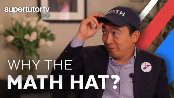 Presidential Candidate Andrew Yang (INTERVIEW): Why the Math Hat? Why 16-Year-Olds Should Vote?