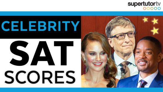 Celebrity SAT® Scores