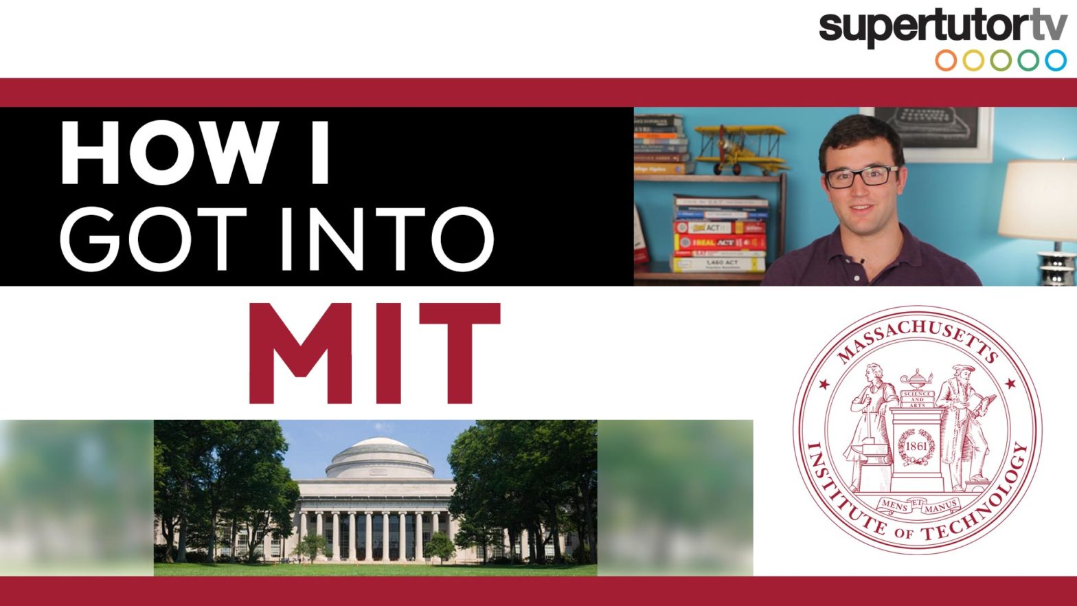 How I Got Into MIT: College Admission Tips!!!