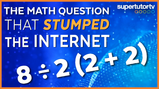 The Math Question That's BREAKING The Internet!