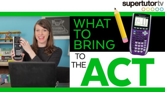 What to Pack for The ACT: Pack for Success