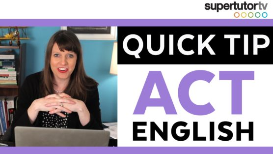 ACT English Quick Tip: Equivalent Answers